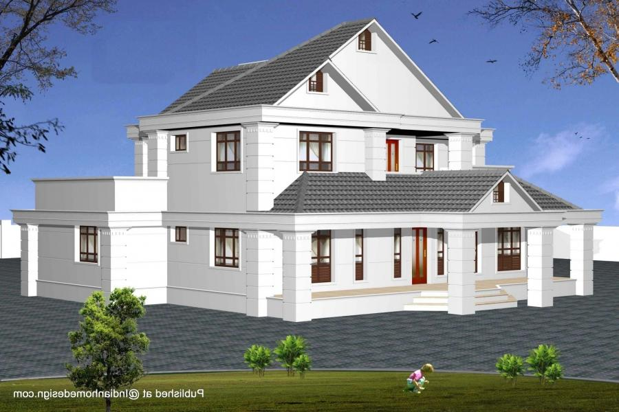 General : Pictures Of Modern Houses Designs Indian Model House...