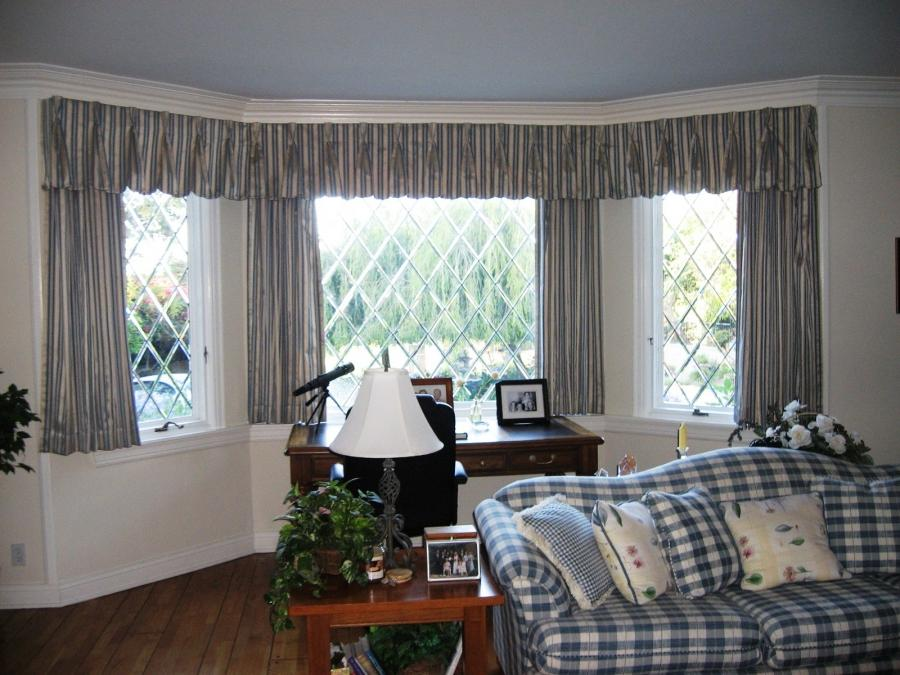 Curtains For Bay Window Photos