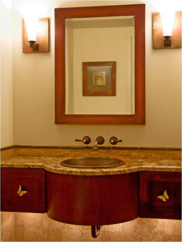 Photos arts crafts bathrooms for Arts and crafts style bathroom design