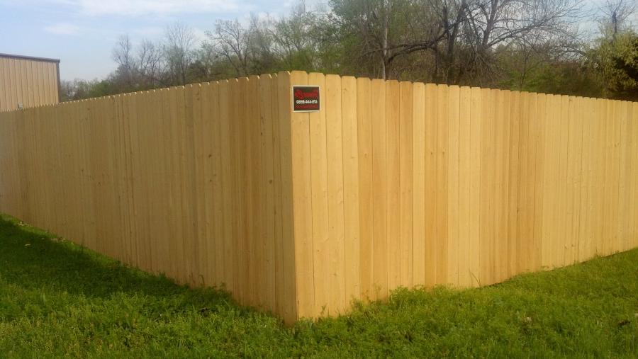 cypress privacy fence