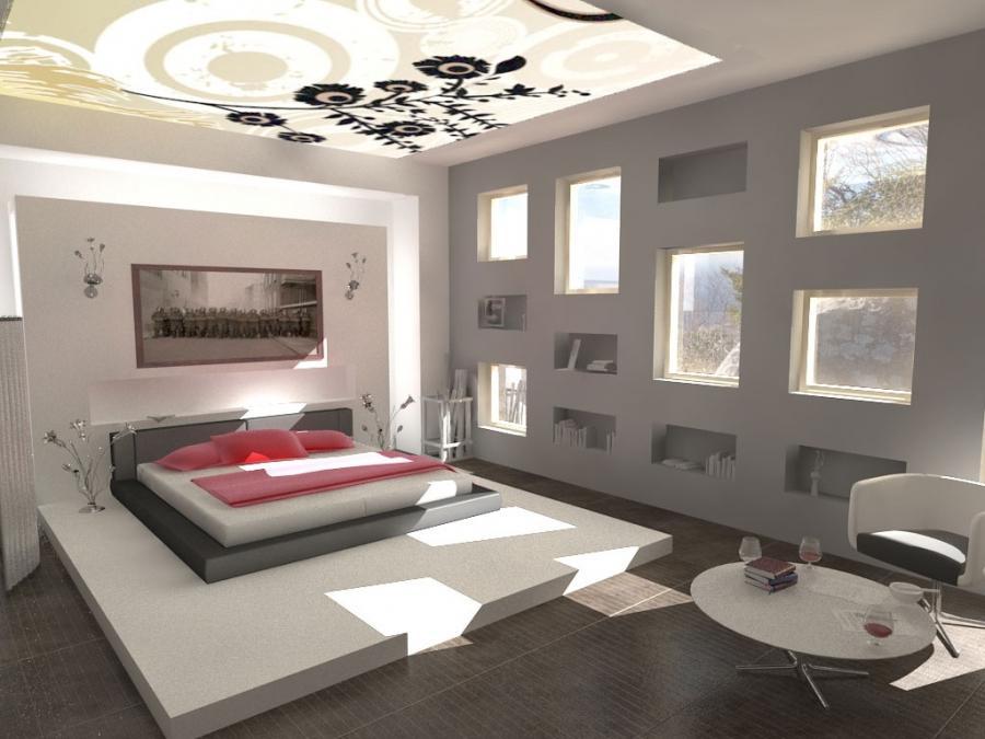 Bedroom photo wallpaper for Homebase bedroom inspiration
