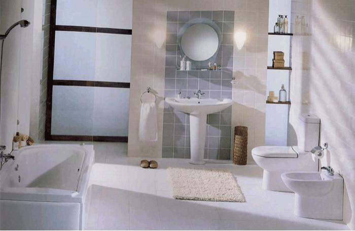 classic design bathroom