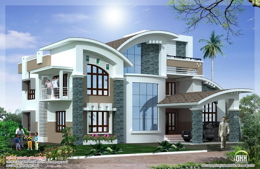 Mix Luxury Home Design Kerala Home Design Architecture House...