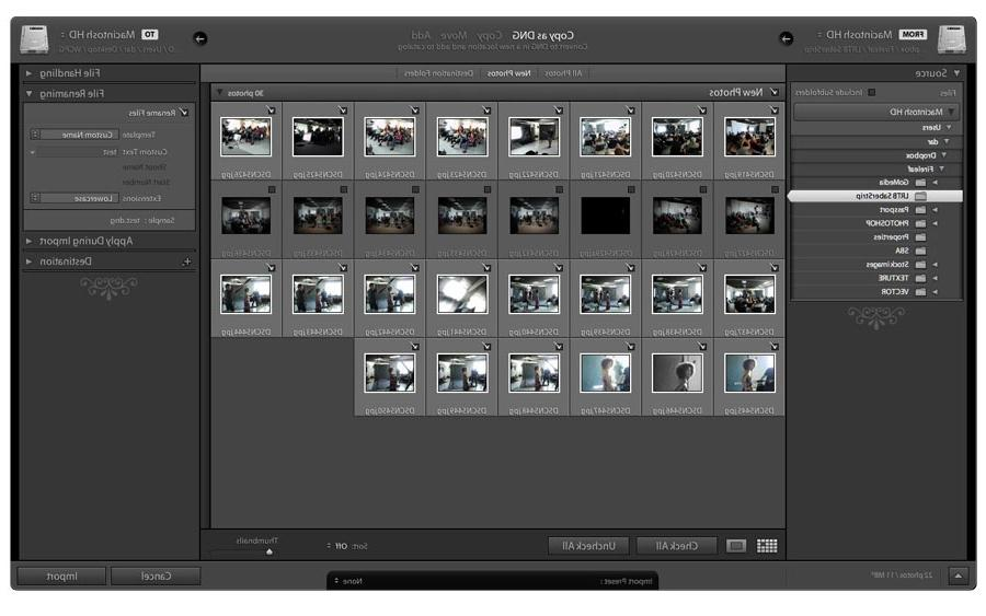 Caution: Lightroom cannot determine if an image is already in the...