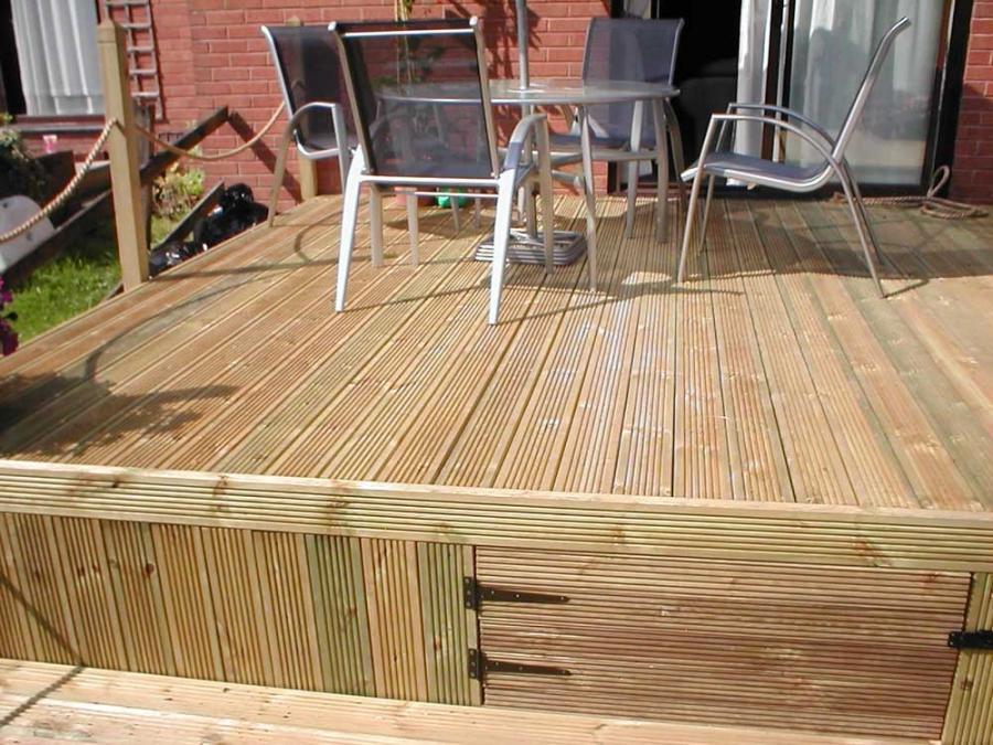 Photos of garden decking ideas for Garden decking north london