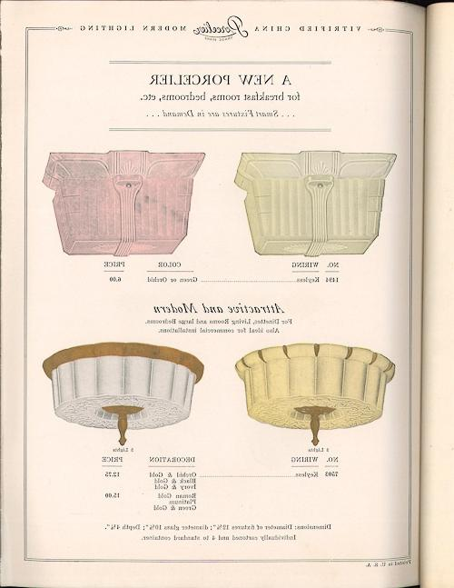 I love porcelain bathroom sconces of all colors and designs. I...