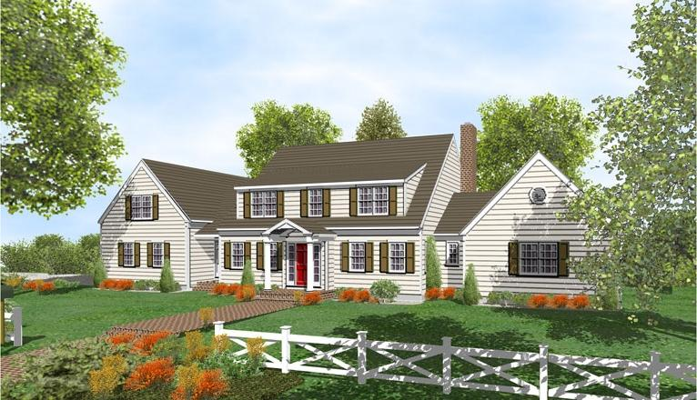 Cape Cod House Plans Photo Gallery