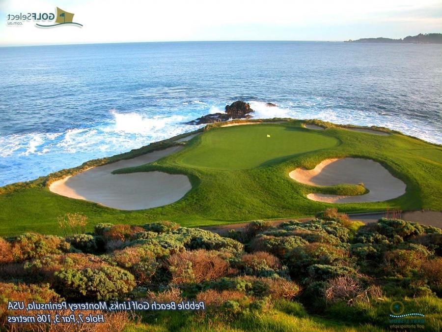Pebble Beach Golf Course Wallpaper Photos