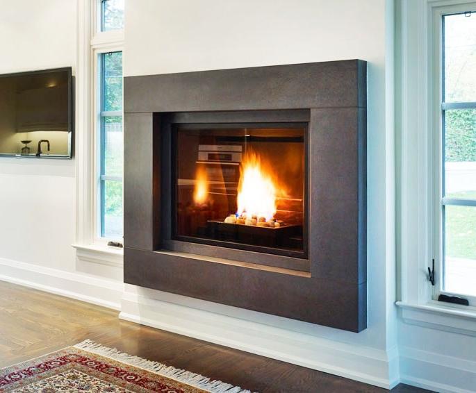Contemporary fireplace mantel photos - Modern fireplace mantels ...