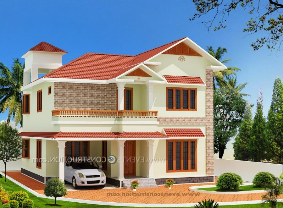 Sample house elevation photos for Sample house plans india