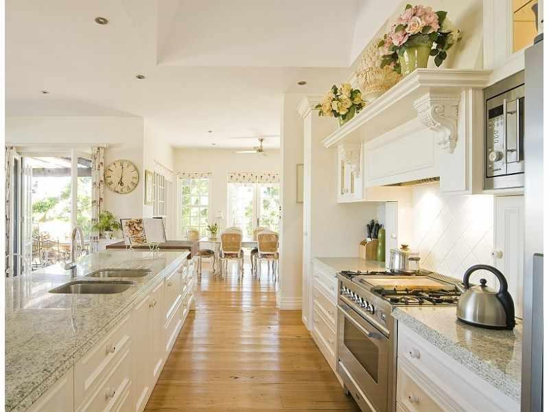 This is why we love french kitchens adorable home - French Kitchen Photo