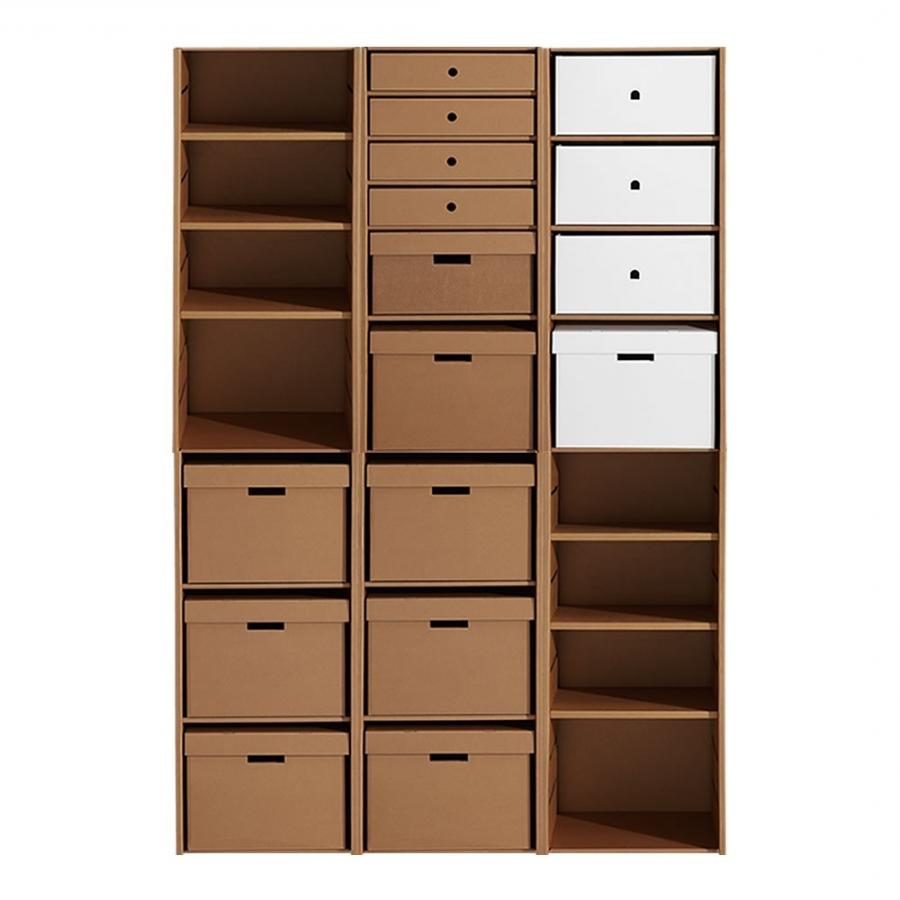 Media Storage Cabinet With Photo Holders On Door