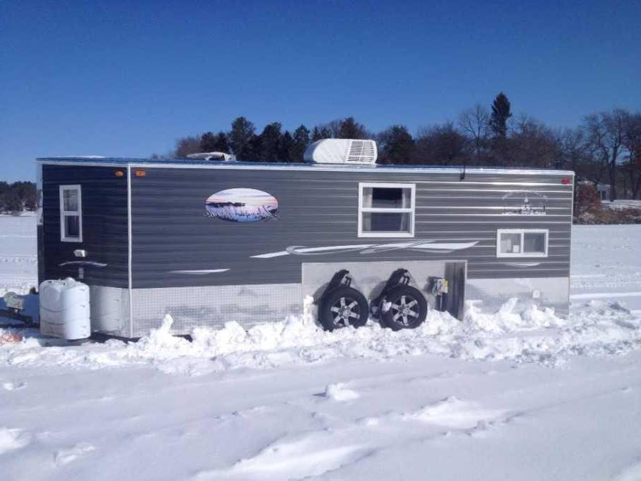 Photos ice fishing houses for Used fish houses for sale mn