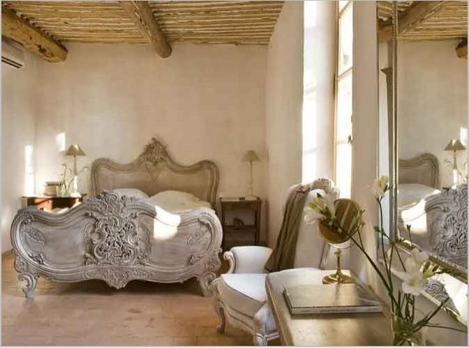 Using French Country Style for Bedroom Decorating Ideas Image of...