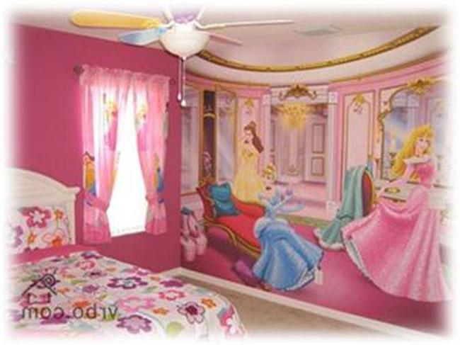 Princess Theme Bedroom Photos