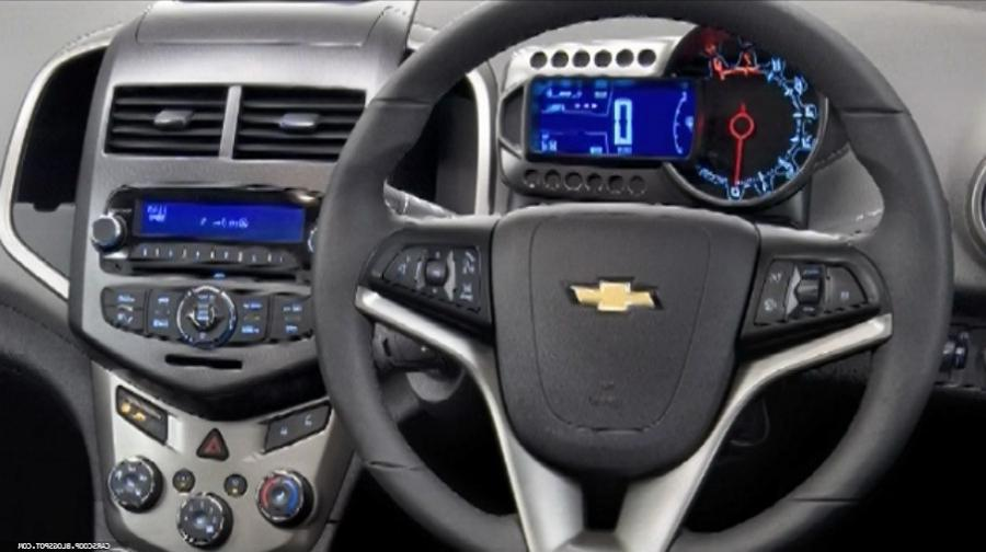 chevy aveo interior photos