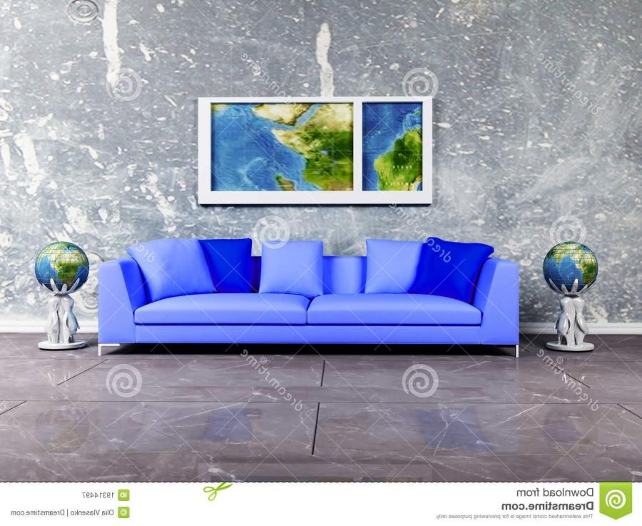 Modern Interior Design Of Living Room Royalty Free Stock...