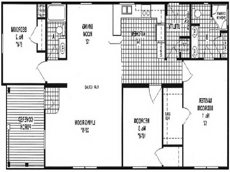 Double wide interior photos for Double wide floor plans with photos