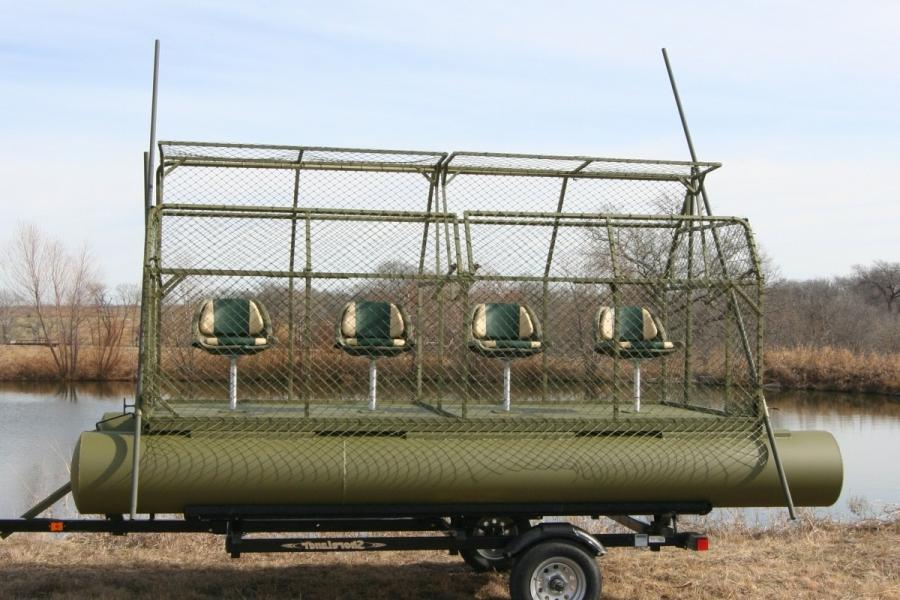 Floating Duck Blinds Photos
