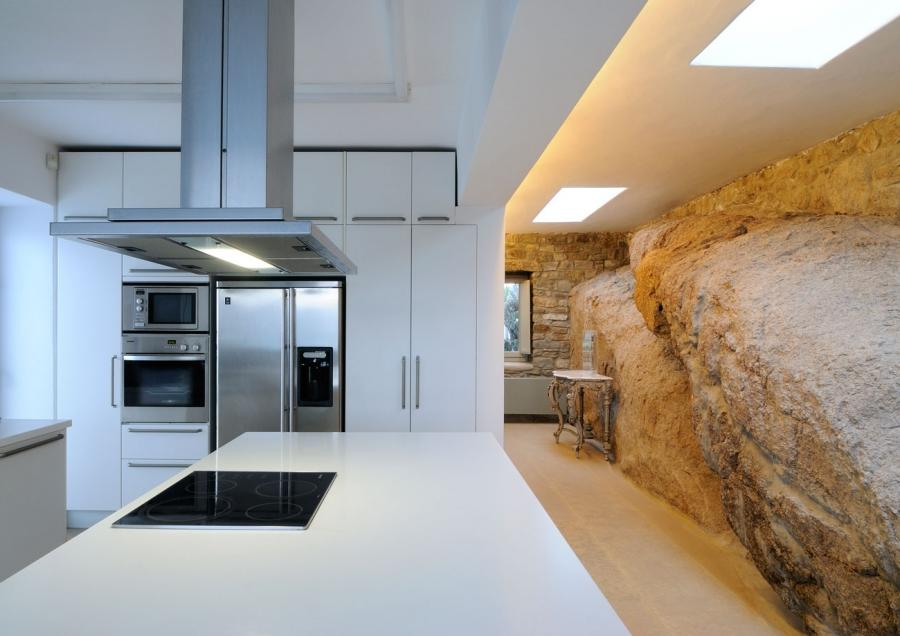 Provocative and interesting kitchen interior design
