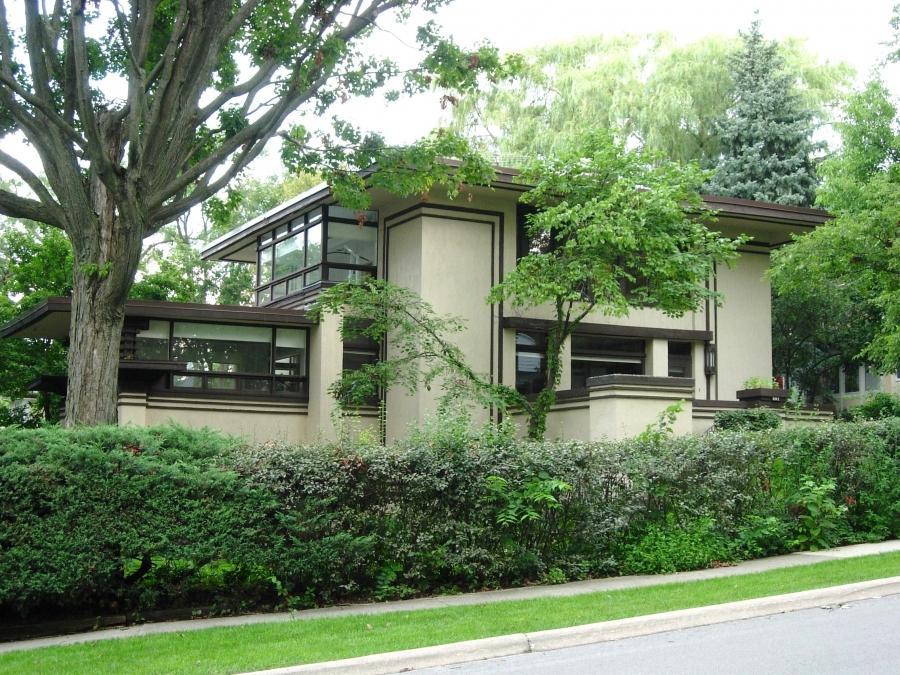 Frank Lloyd Wright Prairie Houses Photos