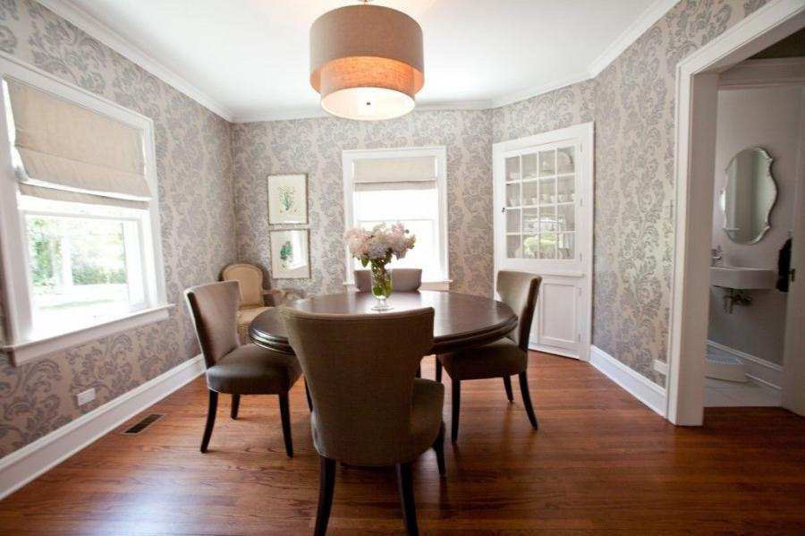 Wallpaper Dining Room Photos