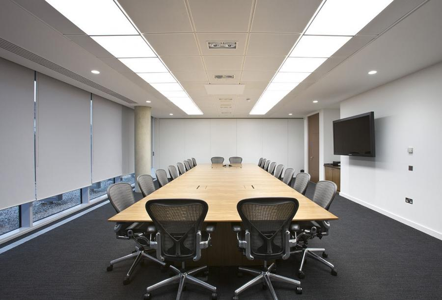 Boardroom table / contemporary / wood - GLOBAL COMMUNICATION...