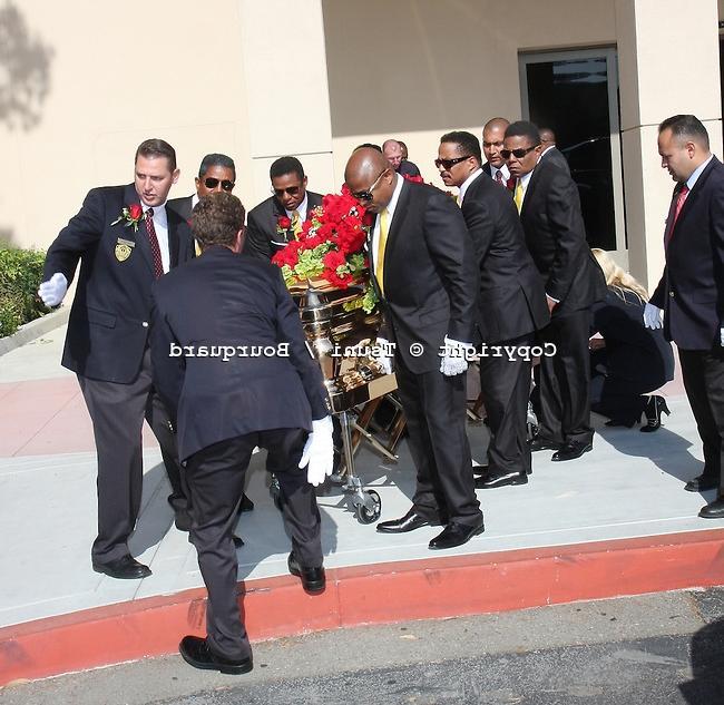 Michael jackson casket photos