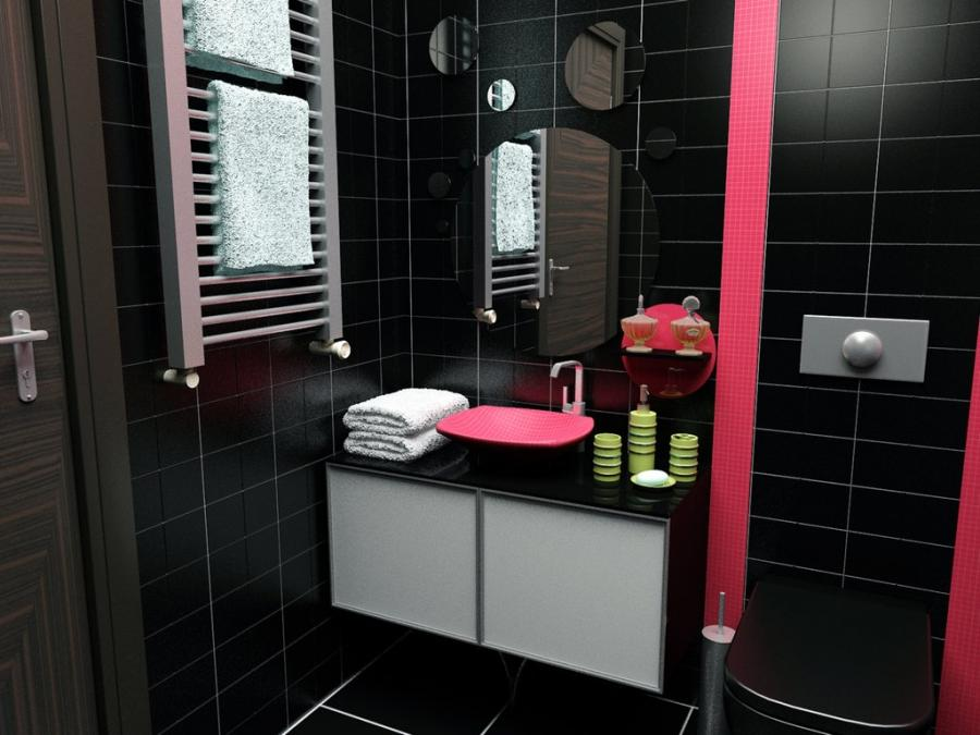 Deviantart Small Black Bathroom Decoration