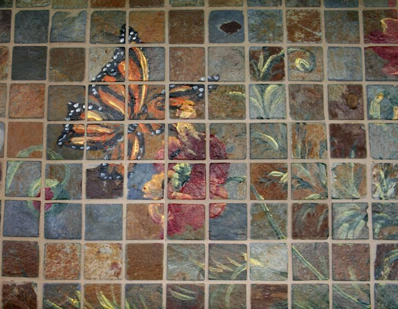Photo tiles murals for Custom mosaic tile mural