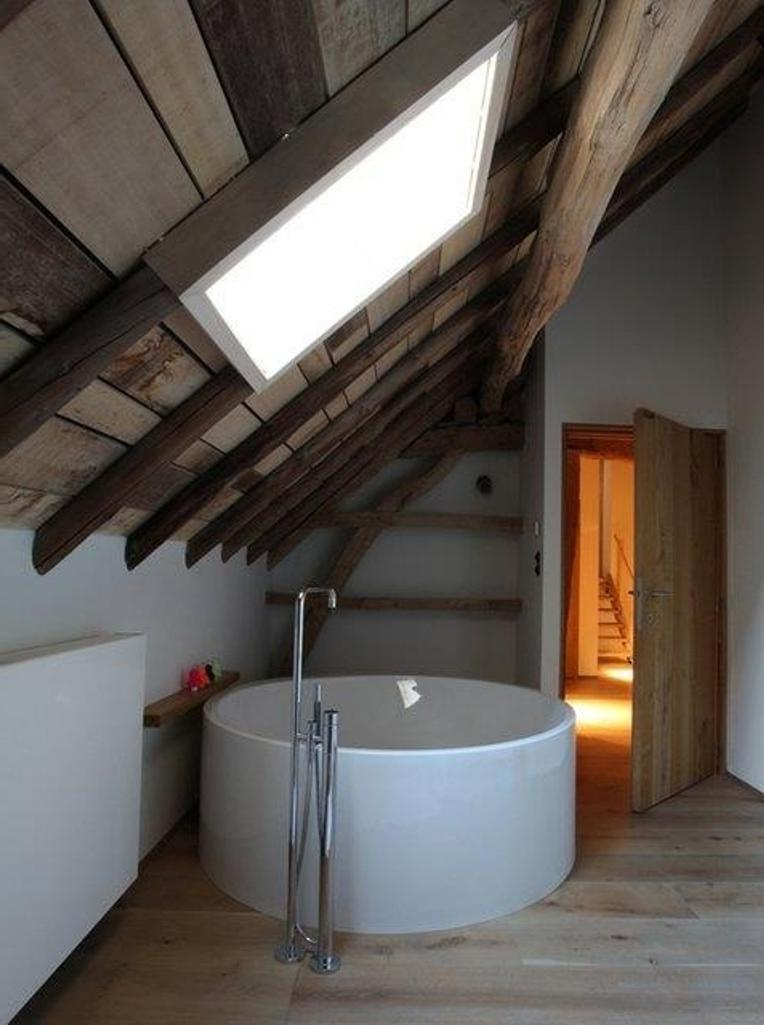 Beautiful Attic Bathroom