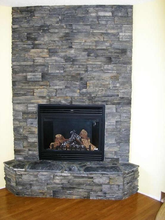 Eldorado Stone Fireplace Photos