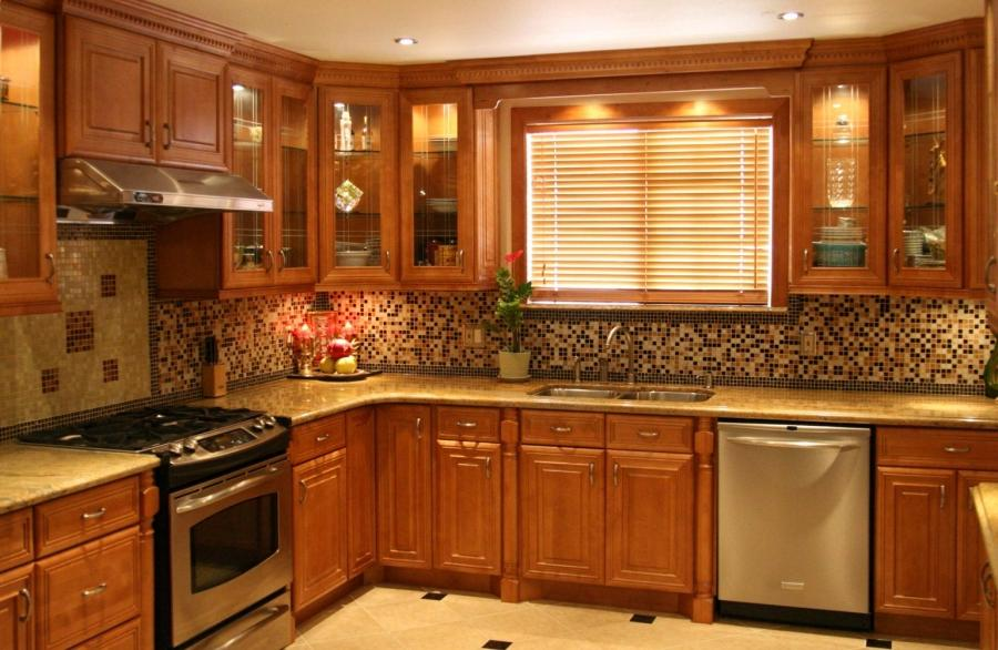 Maple Kitchen Cabinets Contemporary Photos