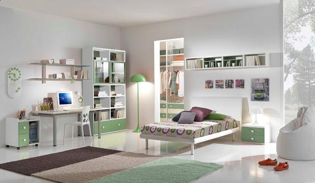 Photos decoration chambre adolescent for Chambre pour adulte moderne