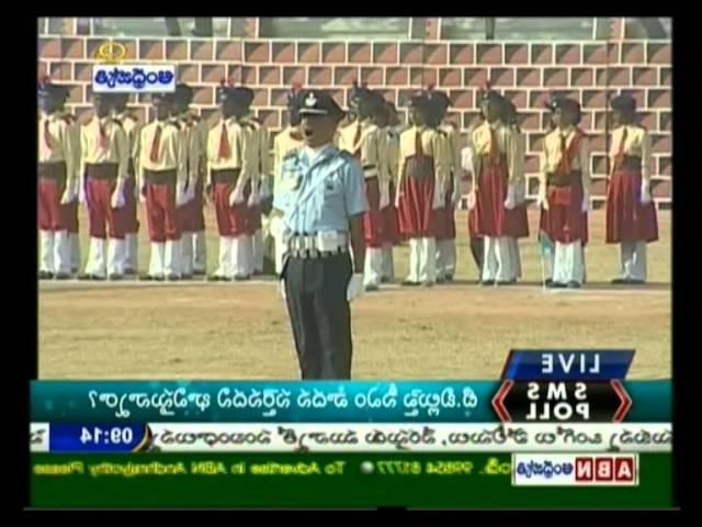 19:23 Republic Day Celebrations in Secunderabad Parade Grounds
