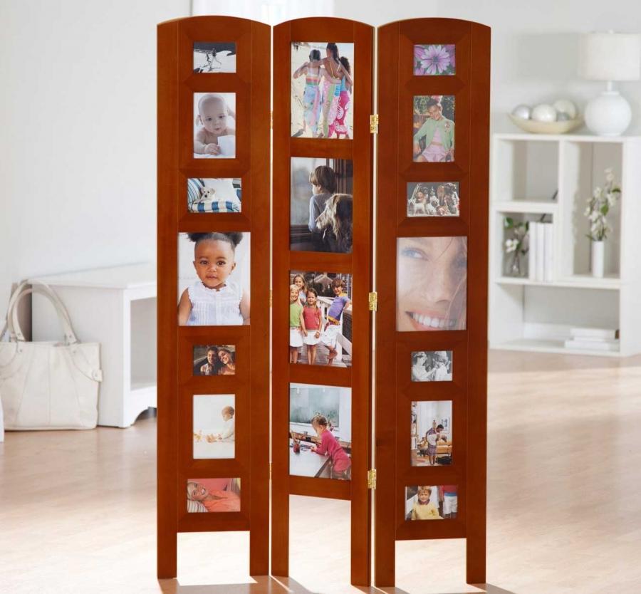 Diy photo frame room divider - Room divider picture frames ...