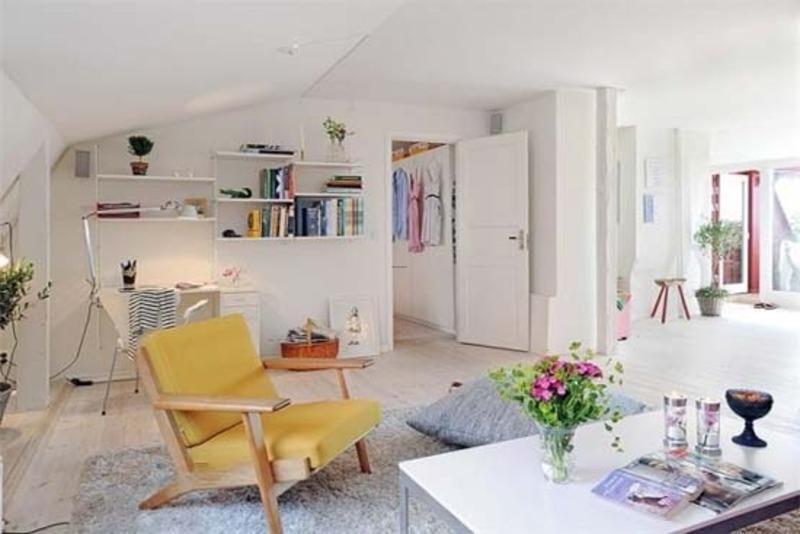 photos decorated studio apartments