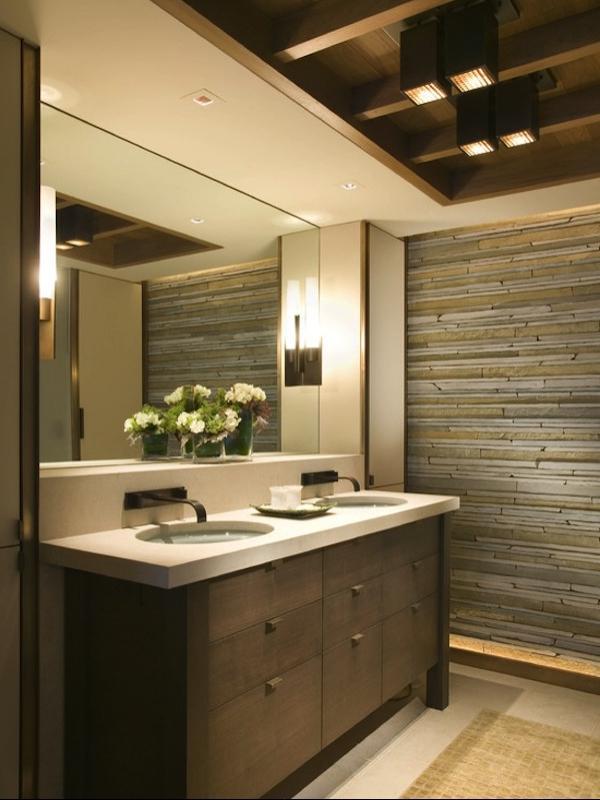 Zen bathroom design photos for Kitchen cabinets zen