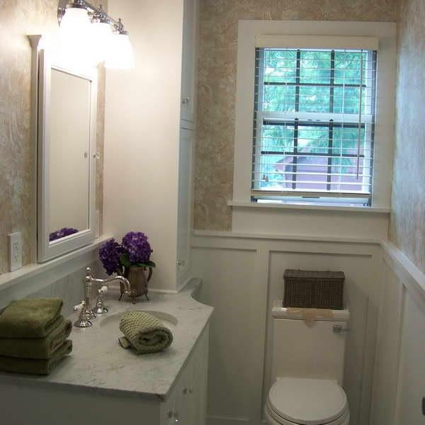 Wainscoting In Bathroom Photos