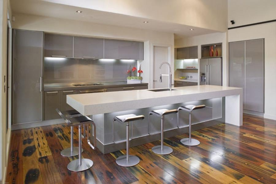Movable Kitchen Islands with Seating