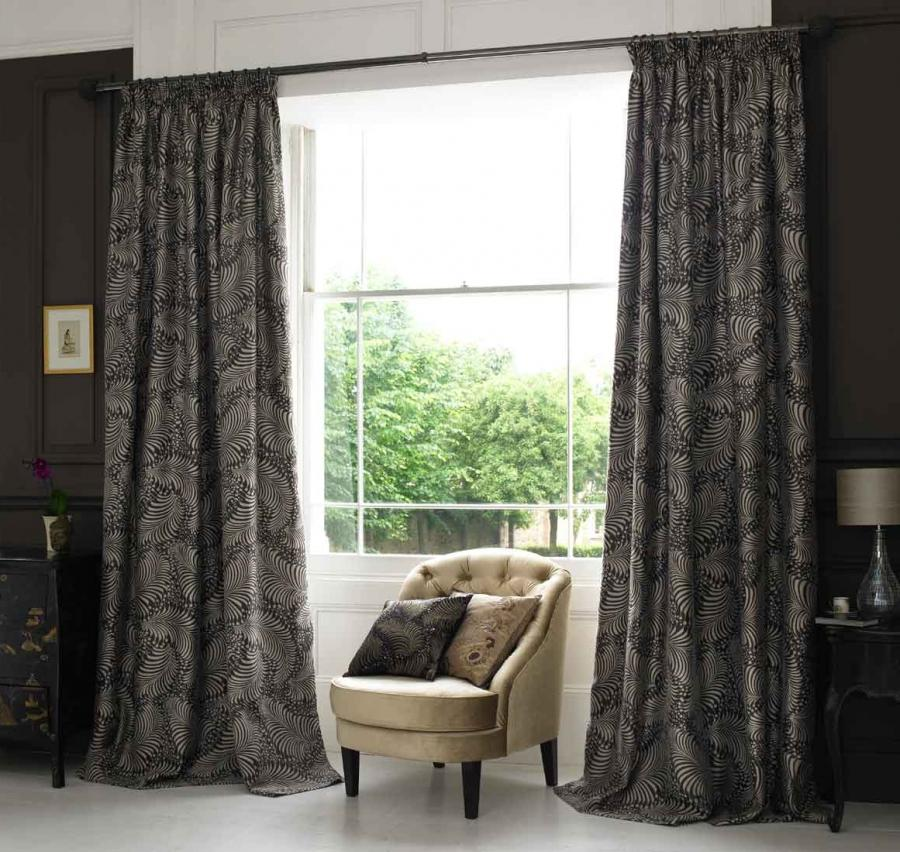 Living Room Curtain Design Beautify Window with Curtain Design