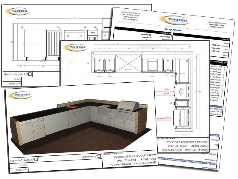 Outdoor kitchen plans photos for Outdoor kitchen designs free