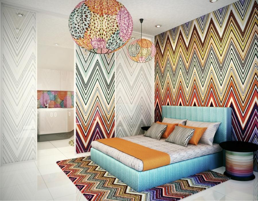 Декор стен тканью картинки