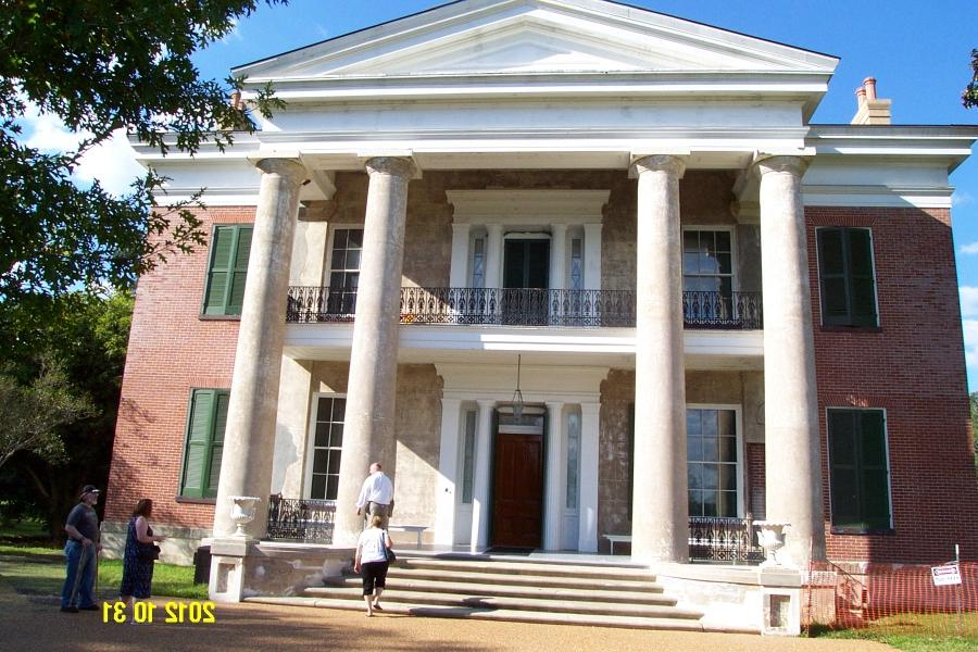 Photos of natchez mississippi plantation houses for Home builders in mississippi