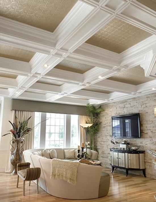 Tin Ceiling ideas-10 Very Cool Ceiling design Ideas to improve...