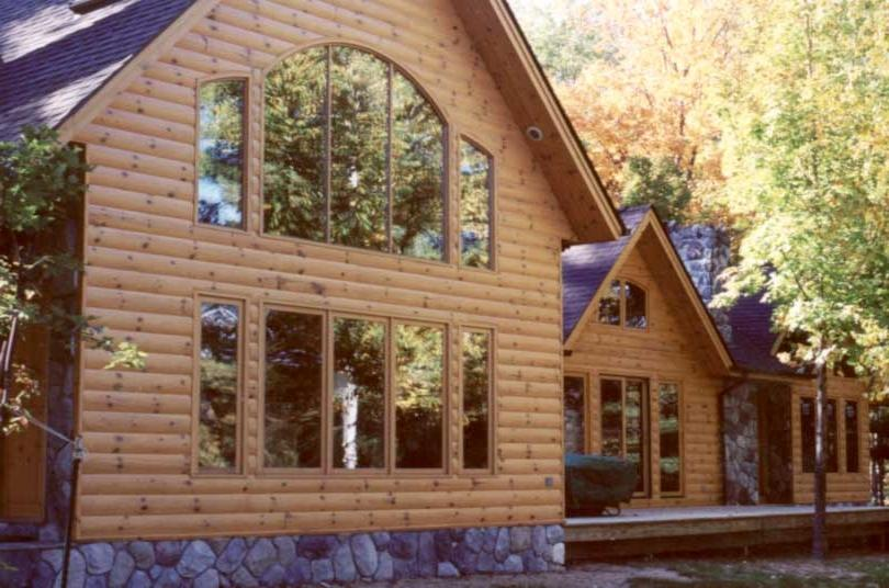 Vinyl Log Siding Photos