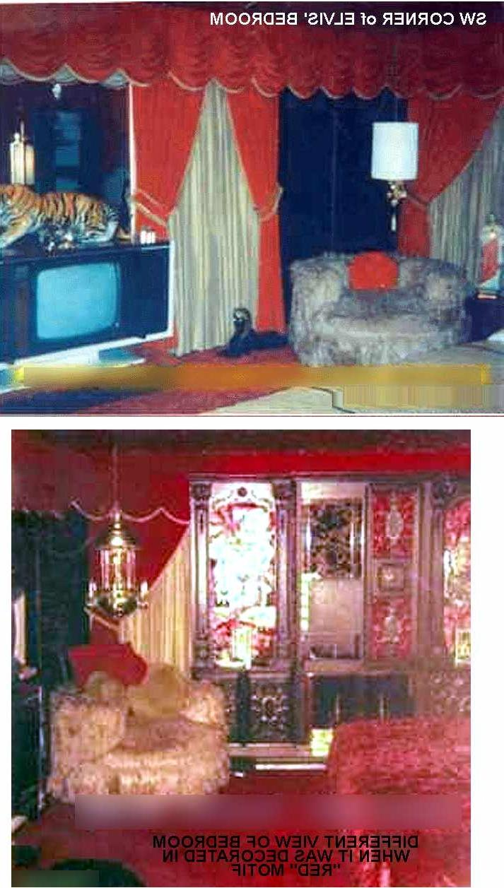 elvis bedroom graceland photos