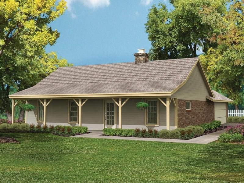 Simple country house plans with photos for Simple ranch style house