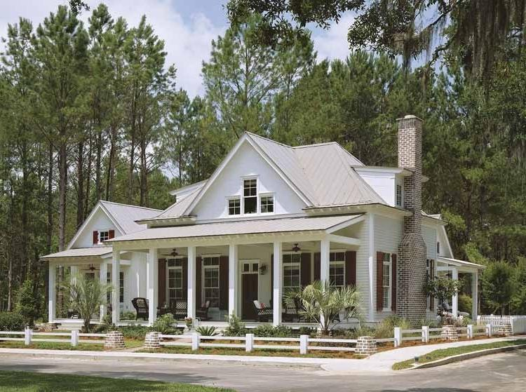 Low country house plans with photos for Low country farmhouse plans