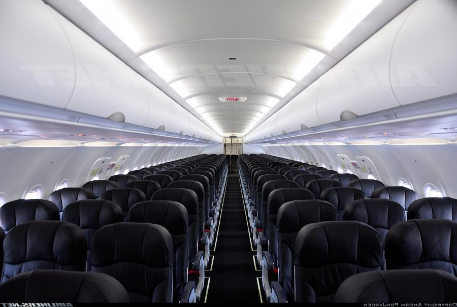 Airbus A320 Interior Photos